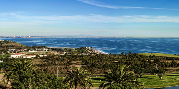 Vista shot of the Malibu Campus - Pepperdine University