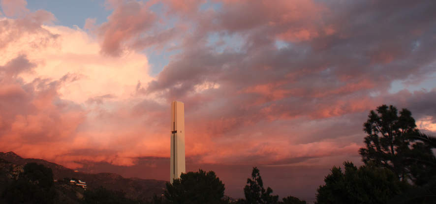 Pepperdine Theme Tower