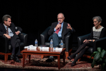 Robert Kaufman, Alan Dershowitz, Amy Wax Panel