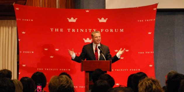 Gary Haugen speaks at the Trinity Forum - Pepperdine University