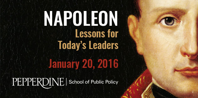 Napoleon: Lessons for Today's Leaders ad - Pepperdine University