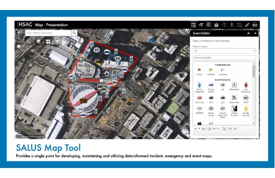 SALUS Mapping Tool Example