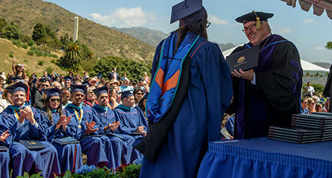 Pepperdine Public Policy students graduating