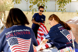 SPP student volunteers - Pepperdine University
