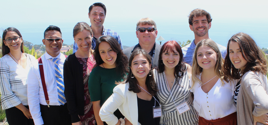 School of Public Policy Student Organization Executive Board Members - Pepperdine University