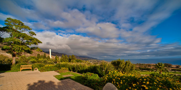 View of the Malibu Campus - Pepperdine University
